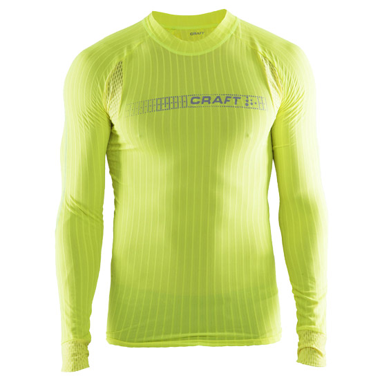 L/A base-layer Trikot Craft Active Extreme 2.0 Brilliant - Gelb fluo