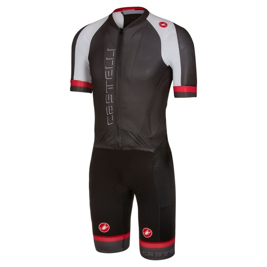 Body Castelli Sanremo 3.2 Speed Suit 2017 - Schwarz