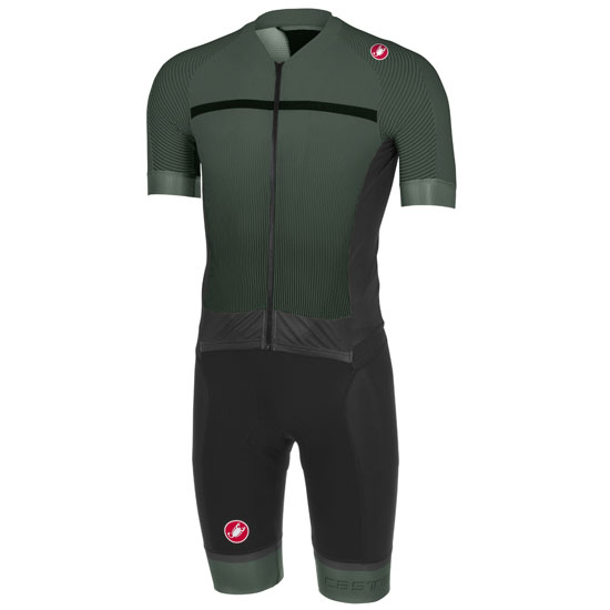 Body Castelli Sanremo 3.2 Speed Suit - Grau