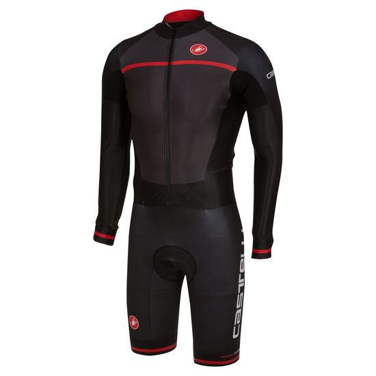 Body Castelli CX 2.0 Speedsuit - Anthrazit