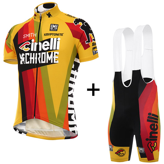 Cinelli Chrome 2017 Kit - Gelb