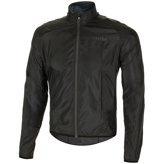 Rh+ Emergency Pocket Shell Windjacke - Schwarz
