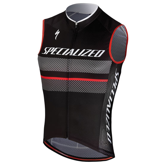 Specialized RBX Comp Logo Armellose trikot - Anthrazit