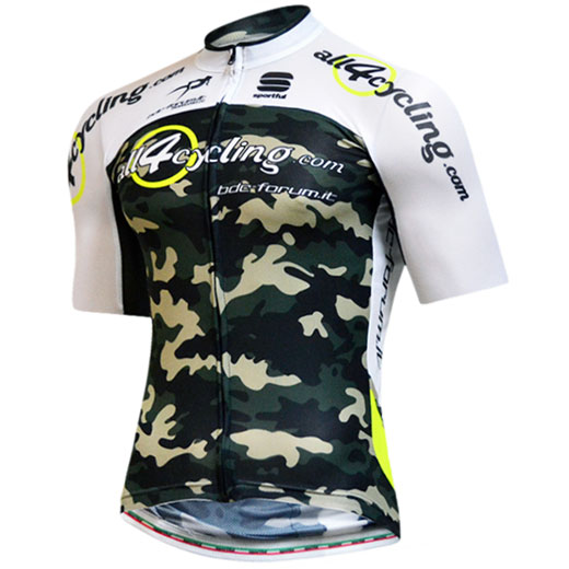 Trikot Bodyfit Summer All4cycling - Bdc Forum Team Camo