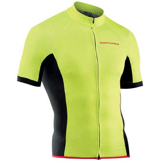 Trikot Northwave Force - Gelb Fluo